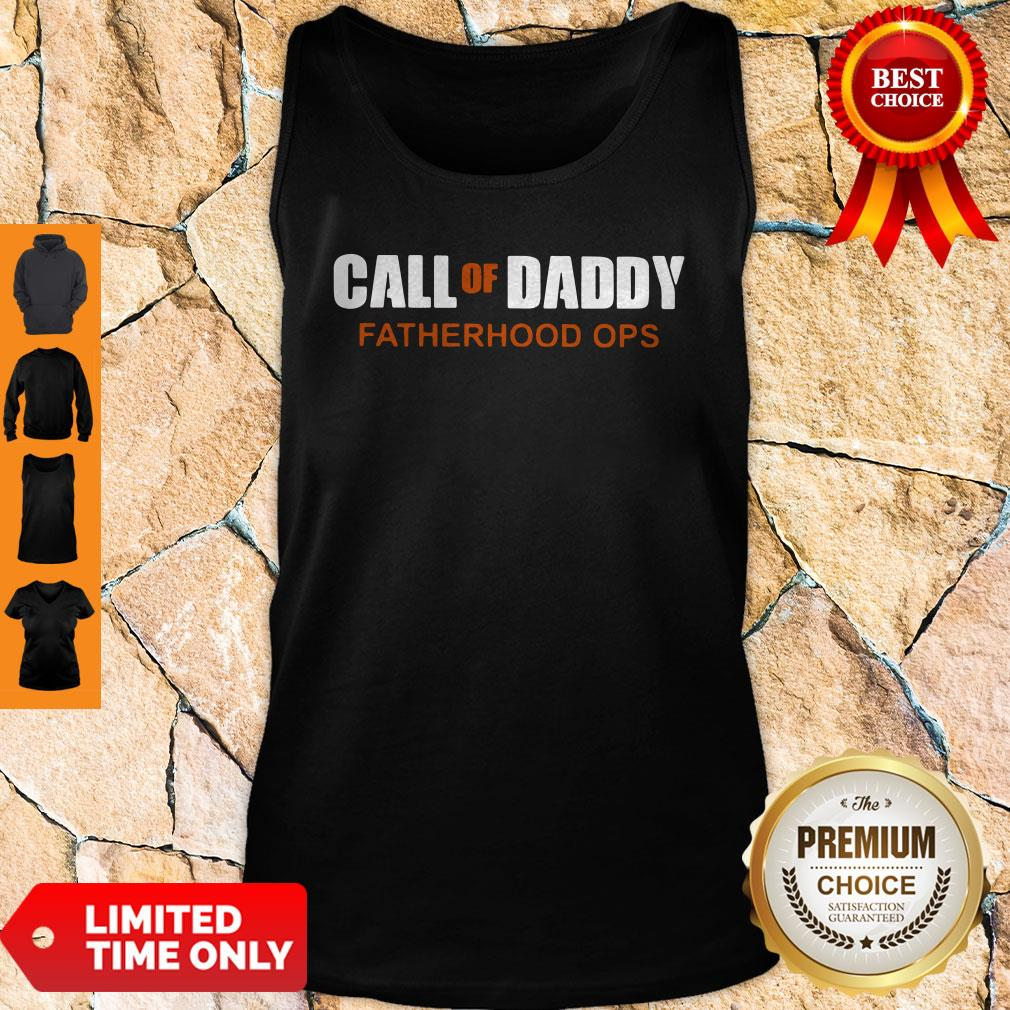 Call Of Daddy Parenting Ops Tank Top