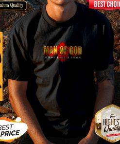 Funny Man Of God Husband Dad Grandpa Shirt