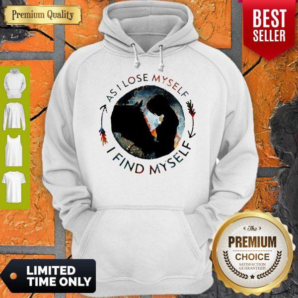 Official Horse Find Myself Hoodie