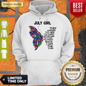 Official Butterfly July Girl Hoodie
