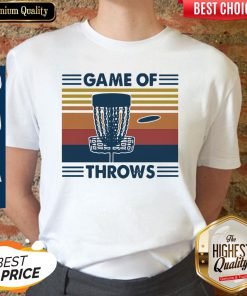 Nice Lacrosse Game Of Throws Vintage Shirt