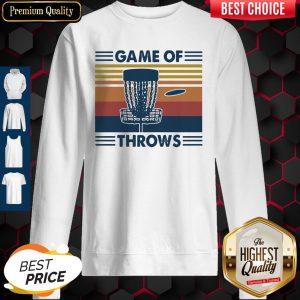 Nice Lacrosse Game Of Throws Vintage Sweatshirt