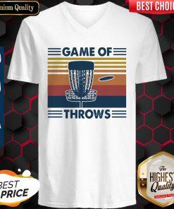 Nice Lacrosse Game Of Throws Vintage V-neck