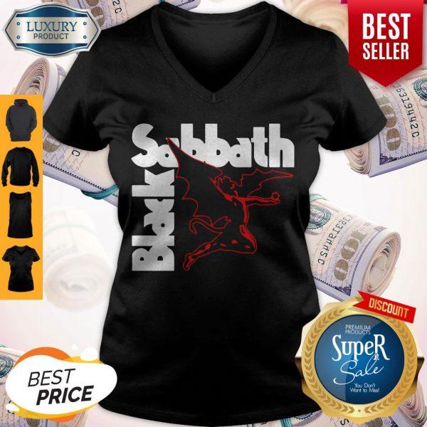 Official Black Sabbath Creature V-neck