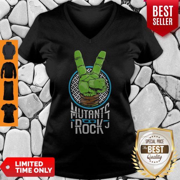 Official Mutants Rock V-neck