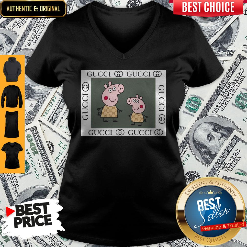 Official Peppa Pig Gucci V-neck