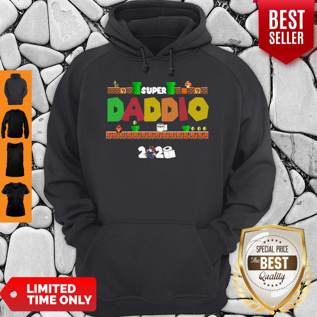 Official Super Daddio Toilet Paper 2020 Hoodie