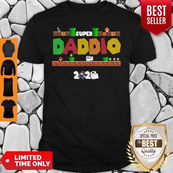 Official Super Daddio Toilet Paper 2020 Shirt