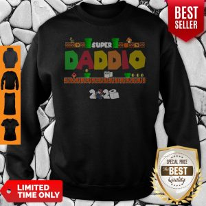 Official Super Daddio Toilet Paper 2020 Sweatshirt