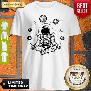 Astronaut Zen Yoga Spiritual Space Shirt
