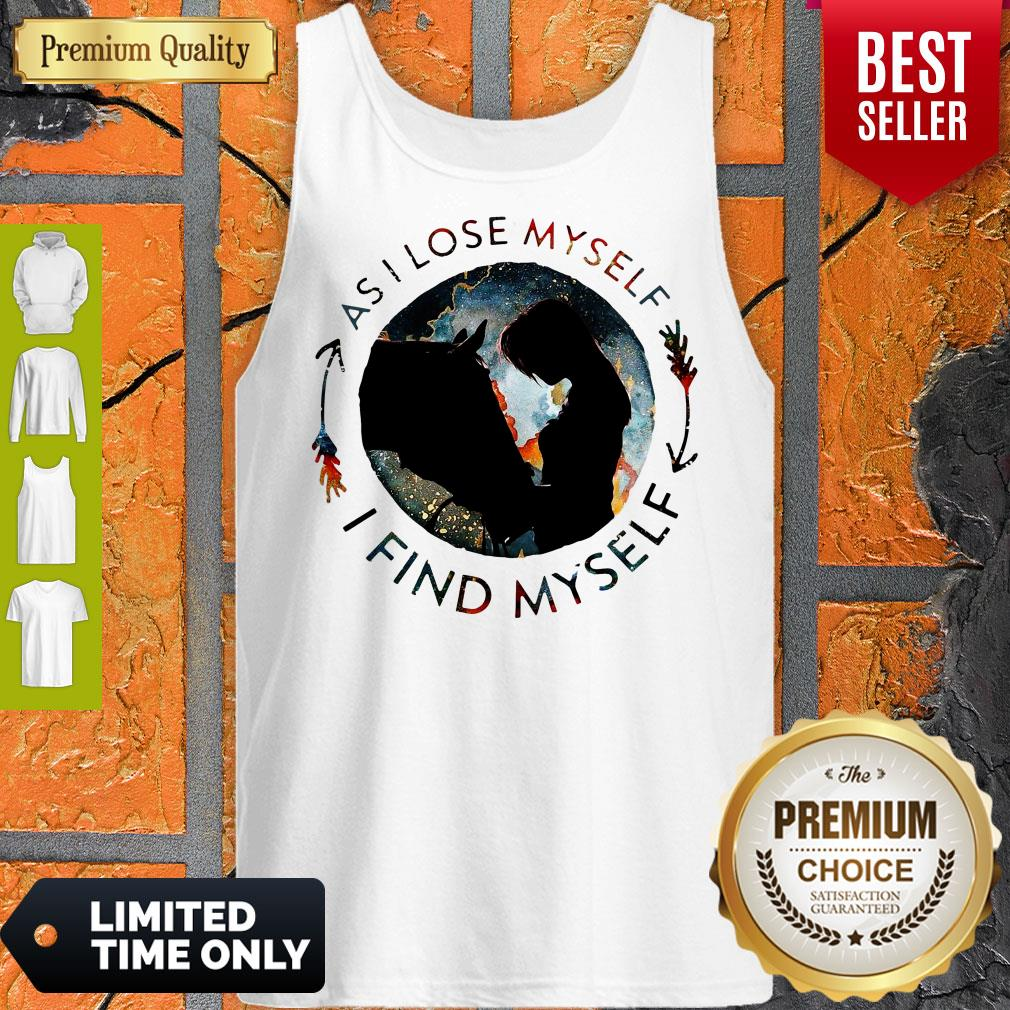 Official Horse Find Myself Tank Top