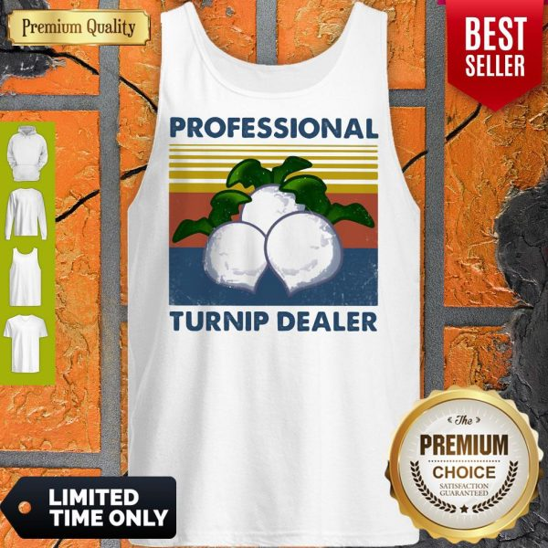 Official Professional Turnip Dealer Vintage Tank Top