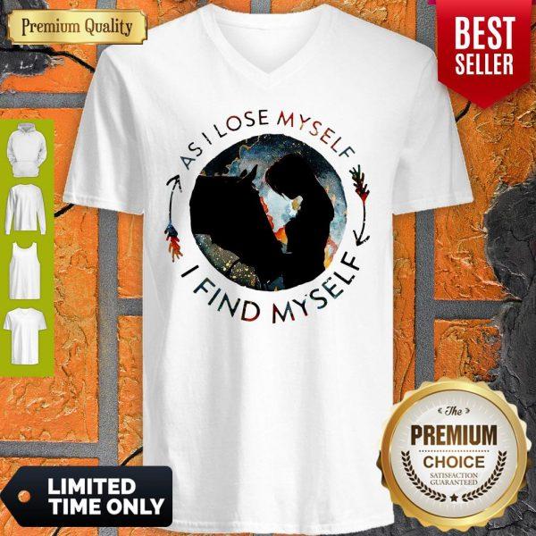 Official Horse Find Myself V-neck