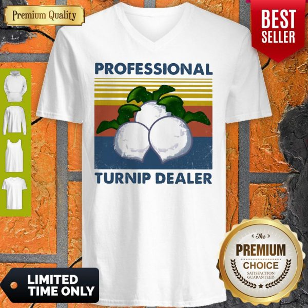 Official Professional Turnip Dealer Vintage V-neck