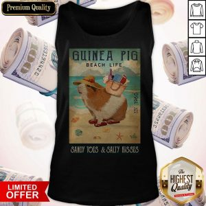 Guinea Pig Beach Life Sandy Toes And Salty Kisses Tank Top
