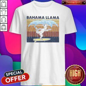 Bahama Llama Dancing Vintage Shirt