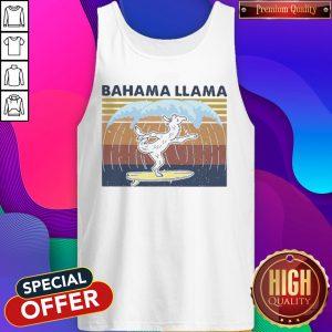 Bahama Llama Dancing Vintage Tank Top