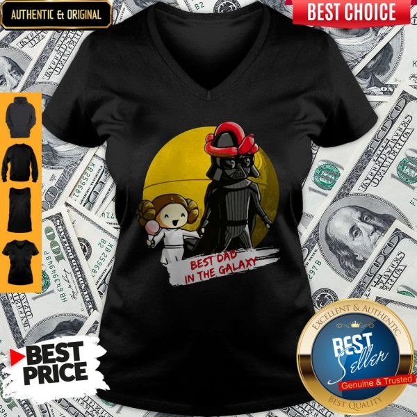 Best Dad In The Galaxy V-neck