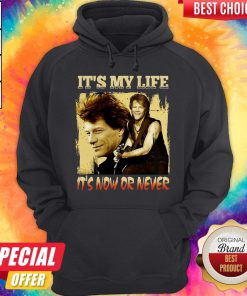 Bon Jovi It's My Life It's Now Or Never Hoodiea