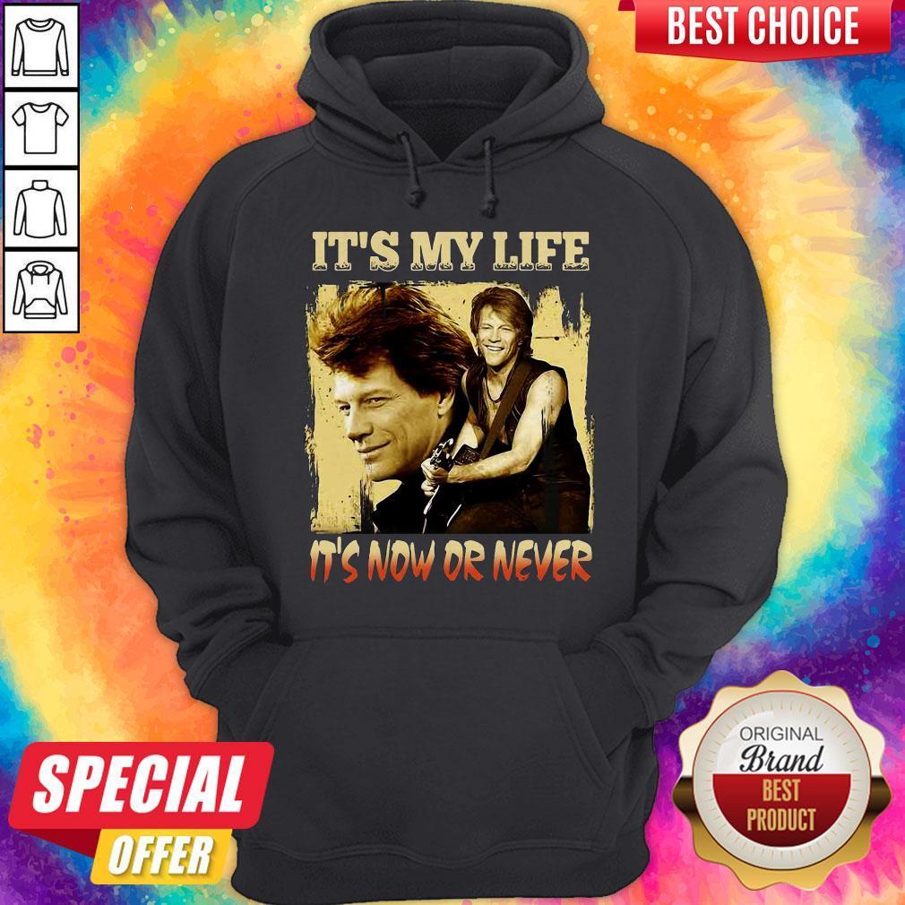 Bon Jovi It's My Life It's Now Or Never  Hoodiea