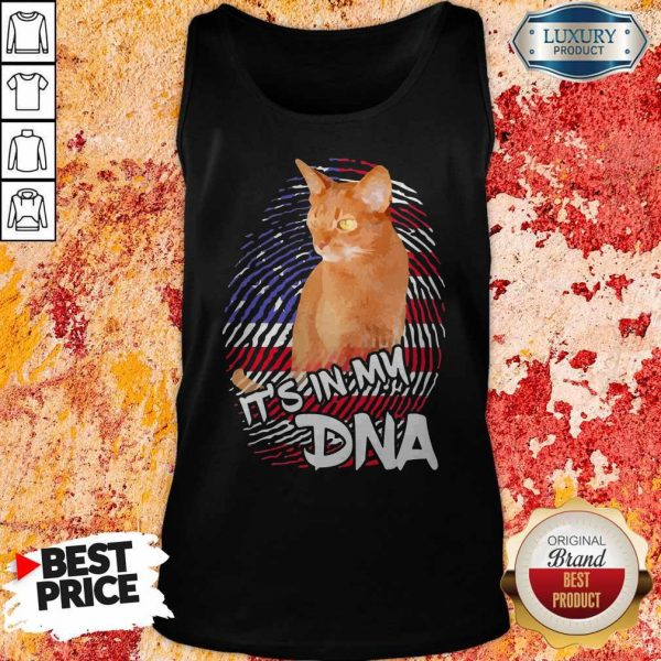 Cat It's In My DNA American Tank Top