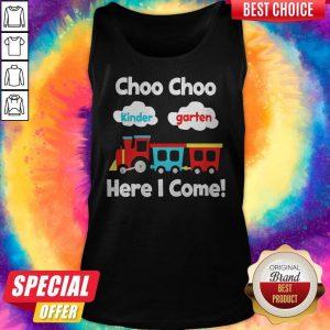 Choo Choo Kindergarten Here I Come Tank Top
