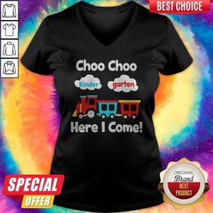 Choo Choo Kindergarten Here I Come V-neck