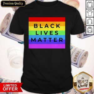 LGBT Black Lives Matter Shirt
