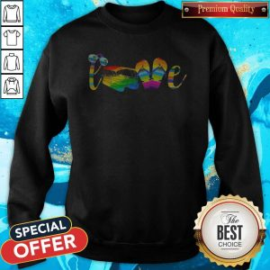 LGBT Love Sign Language Camping ShirtLGBT Love Sign Language Camping Sweatshirt