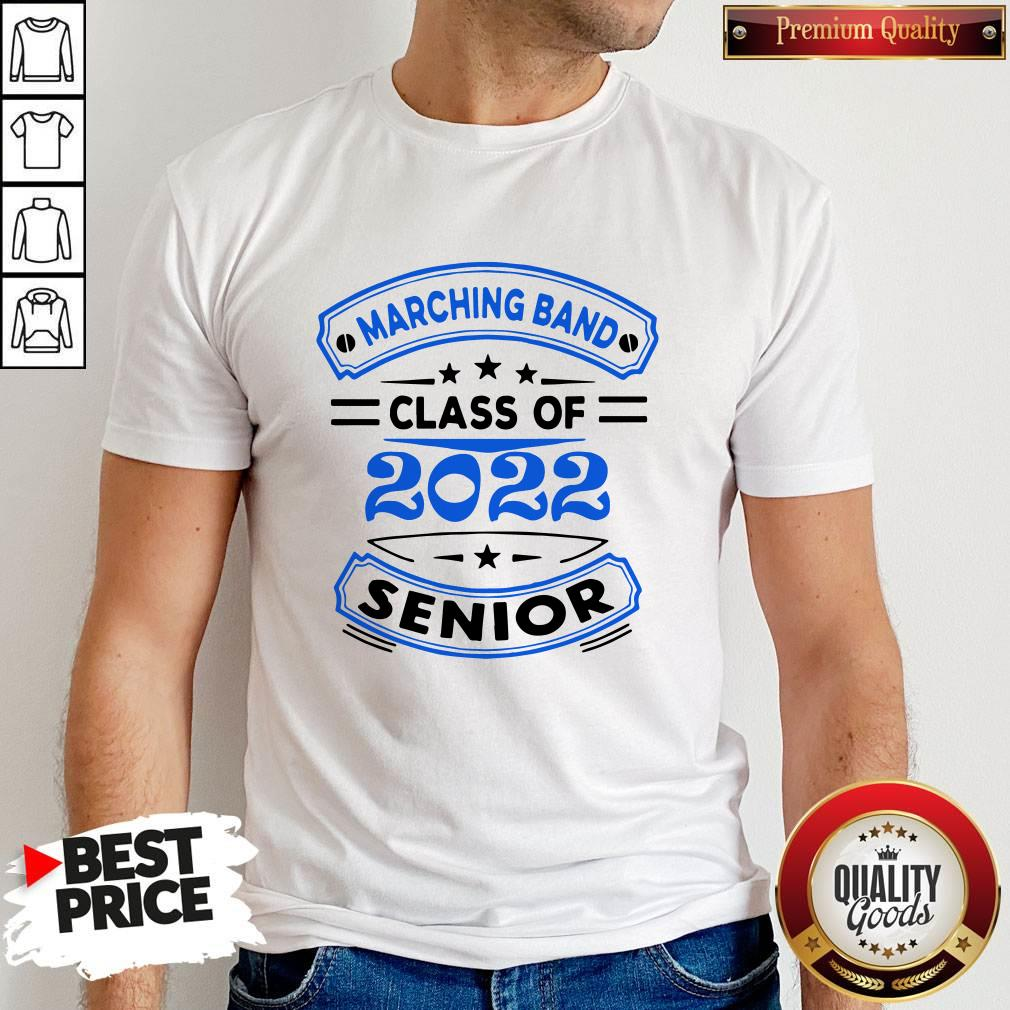 Marching Band Class Of 2020 Senior shirt