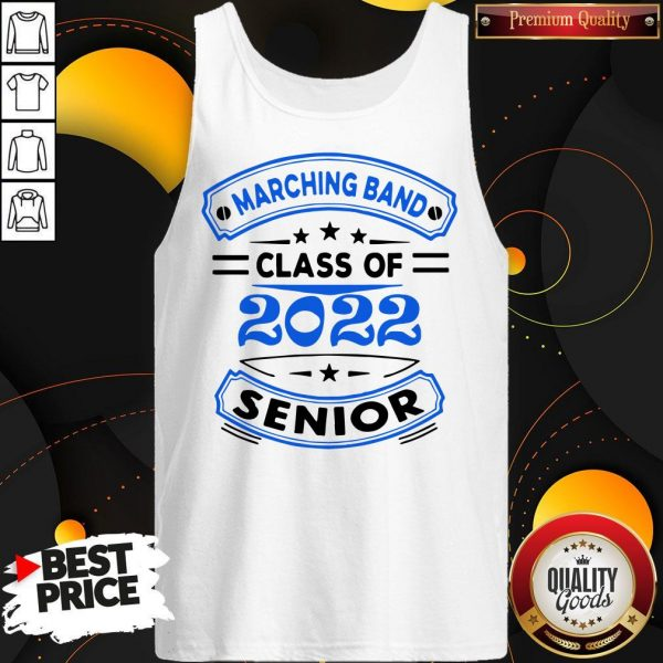 Marching Band Class Of 2020 Senior Tank Top