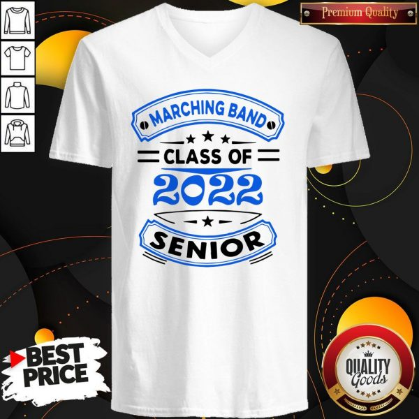 Marching Band Class Of 2020 Senior V- neck