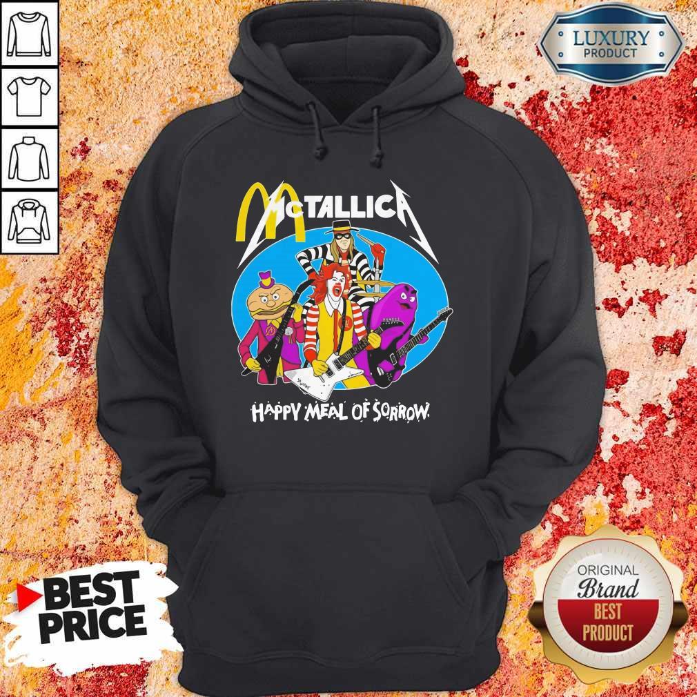 McDonald's Metallica Happy Meal Of Sorrow    Hoodie