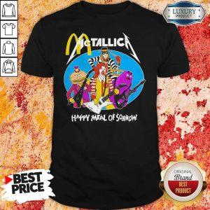 McDonald's Metallica Happy Meal Of Sorrow Shirt