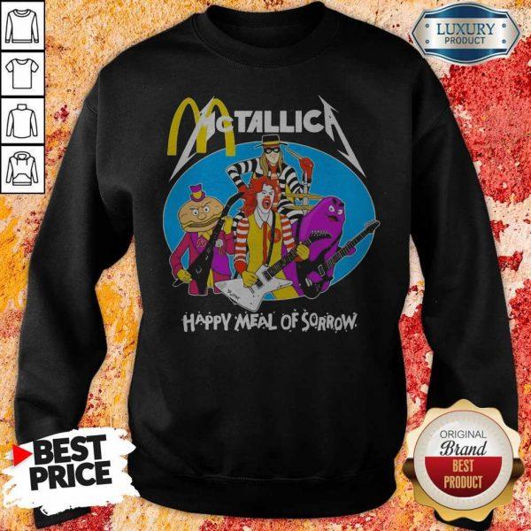 McDonald's Metallica Happy Meal Of Sorrow Sweatshirt