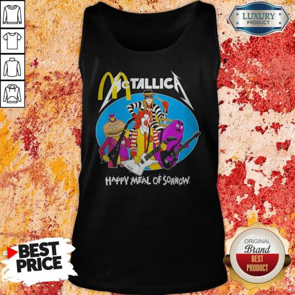 McDonald's Metallica Happy Meal Of Sorrow Tank Top