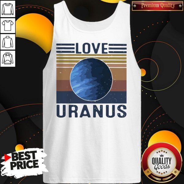 Nice I Love Uranus vintage Tank Top