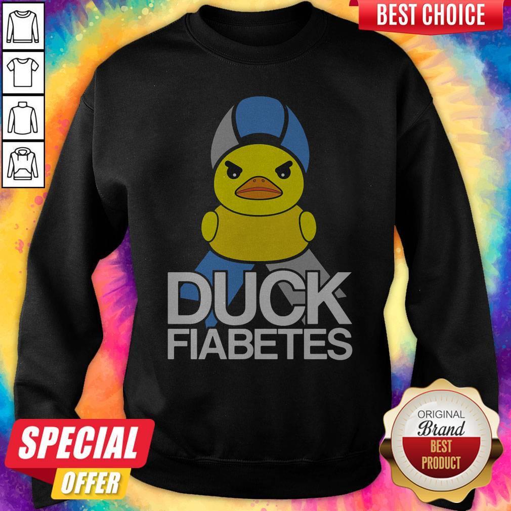Official Duck Fiabetes Sweatshirt