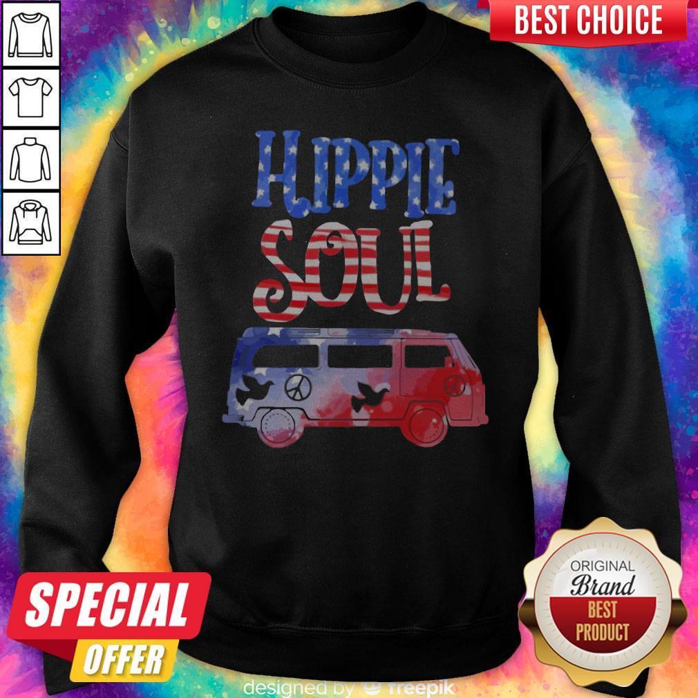 Official Hippie Soul Pigeon   Sweatshirt