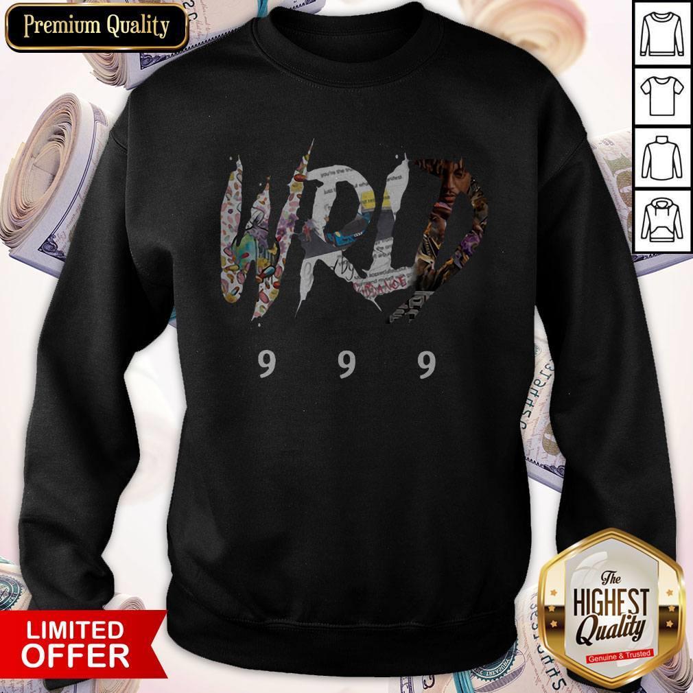 Top Official-Rip-Juice-Wrld-999-Sweatshirt