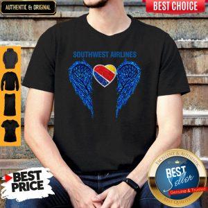 Original Southwest Airlines Wings Angel Shirt