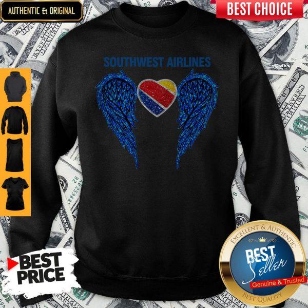 Original Southwest Airlines Wings Angel Sweatshirt