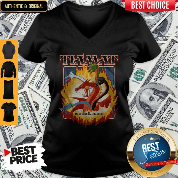 Perfect Tiamat Dungeons And Dragons V-neck