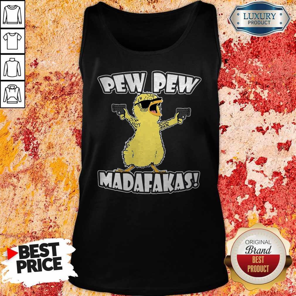 Pew Pew Madafakas Crazy Chick  Tank Top