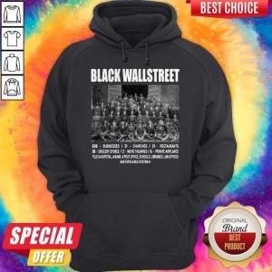 Premium Black Wall Street Hoodiea