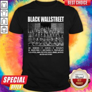 Premium Black Wall Street Shirt