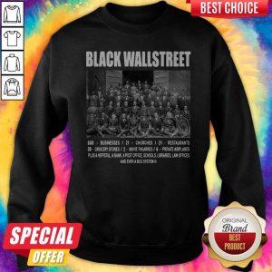 Premium Black Wall Street Sweatshirt