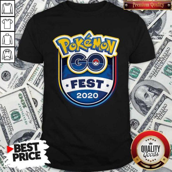 Pretty Pokemon Go Fest 2020 Shirt