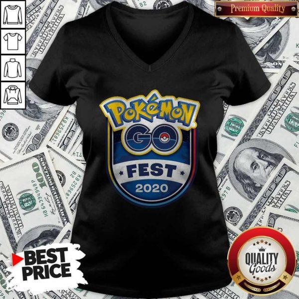 Pretty Pokemon Go Fest 2020 V- neck