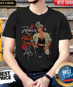 pretty-rockin-the-pisces-woman-life-black-woman-version- shirt shirt